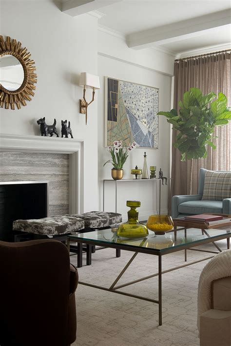 Home Decor Nyc - contemporary new york apartment with chic midcentury vibe