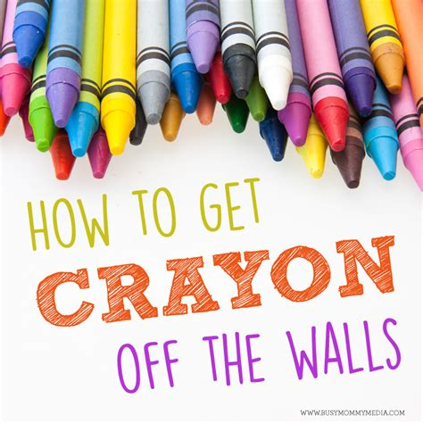 how to get crayon the wall how to get crayon off walls 10 cleaning tips every mom needs to know