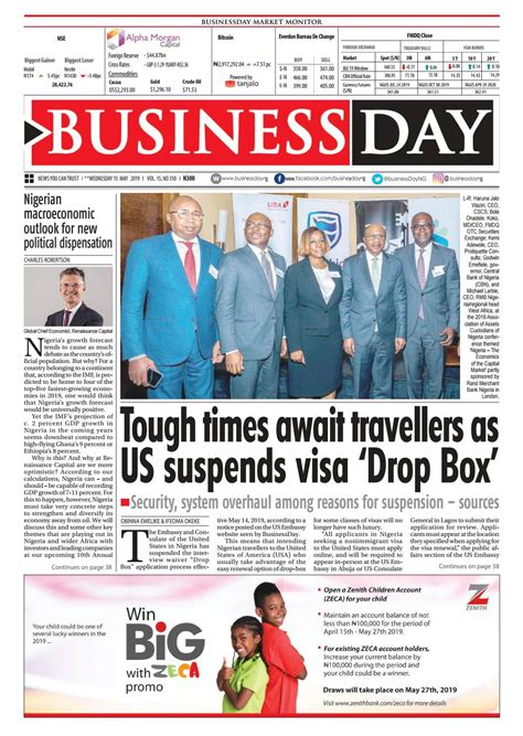 BusinessDay 15 May 2019 by BusinessDay Issuu