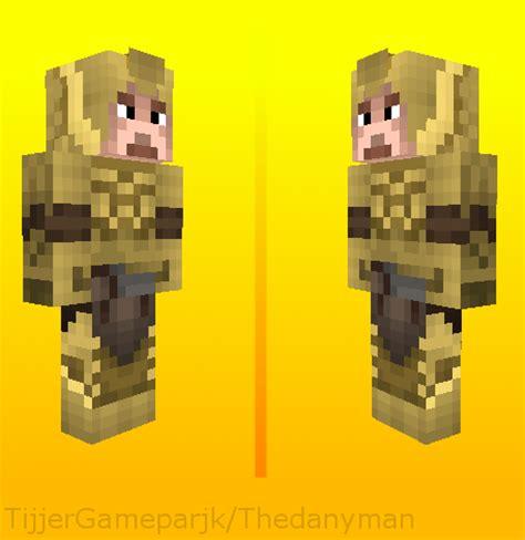 minecraft skin elven armorskyrim  gameparkproductions