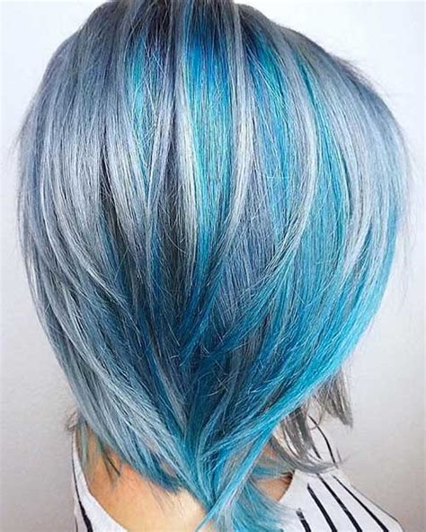 Blue And Hairstyles by Eye Catching Blue Hair Color Ideas On Hair