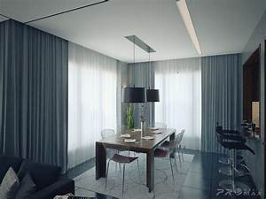 Modern apartment 1 dining room interior design ideas for Apartment dining room ideas
