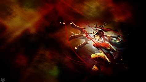 Blood Moon Diana Animated Wallpaper - blood moon akali fan league of legends wallpapers