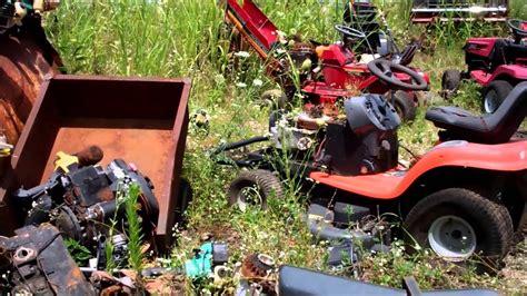 trip to the mower junk yard