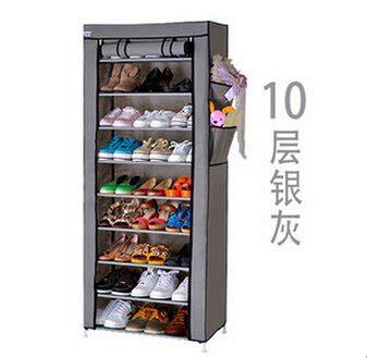 Rak Sepatu Cover 10 Susun jual beli rak sepatu kain 10 susun shoe rack shoes dust