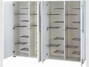 Schuhschrank Mit Türen : schuhschrank flurschrank 4 t ren wei gl nzend ~ Indierocktalk.com Haus und Dekorationen