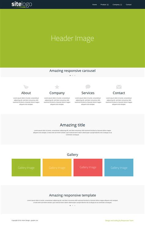 amazing responsive business website templates
