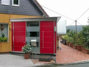 Hausanbau Aus Holz : hausanbau ein neuer hausanbau in rot lackiertem multiplex holz aluminium und glas mit ~ Sanjose-hotels-ca.com Haus und Dekorationen