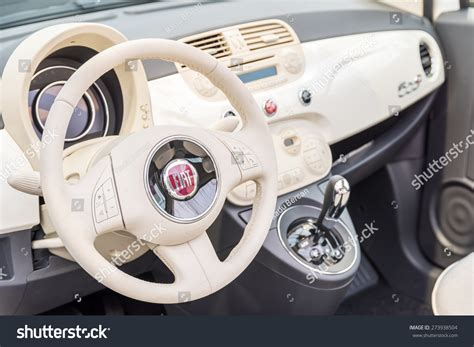 When Was Fiat Founded by Bucharest Romania April 28 2015 Fiat Car Interior