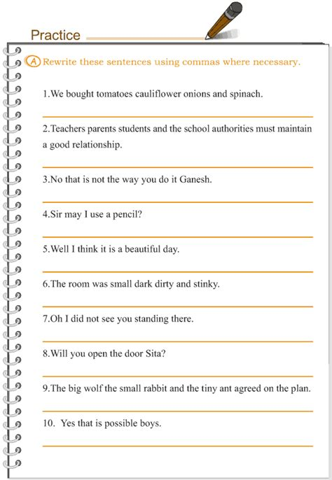 grade 3 grammar lesson 16 punctuation comma 2 grade 3
