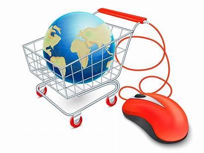 Global Shopping Cart Internet Commerce Ecommerce Concept
