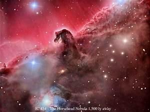 Horse Nebula Widescreen Desktop Wallpaper 1530 - Amazing ...