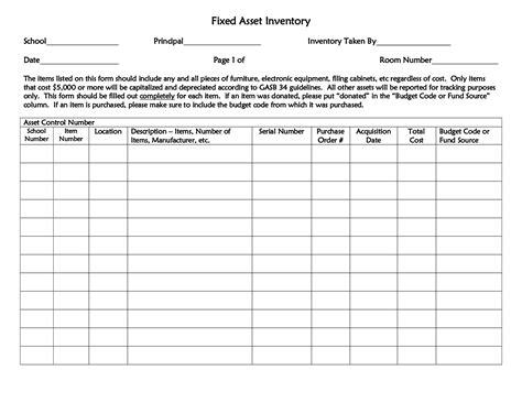printable hotel room inventory checklist