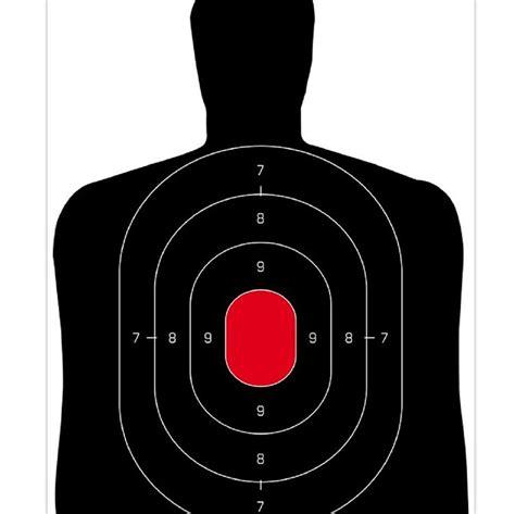 human silhouette paper gun range shooting targets buy