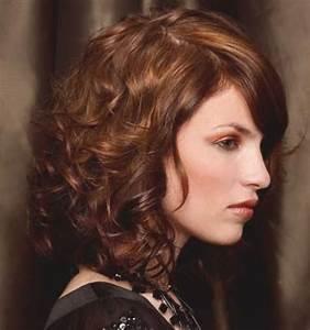 Locken Mittellanges Haar Locken Frisuren Mittellanges Haar Locken