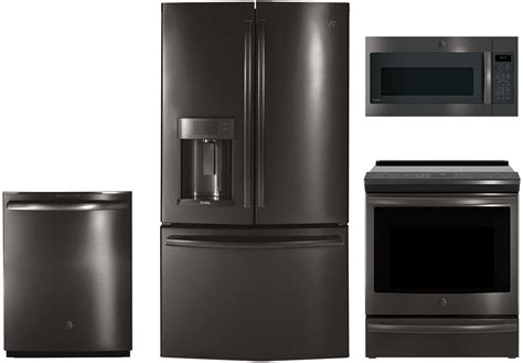 Kitchen Interior Stainless Appliance Package Stainless