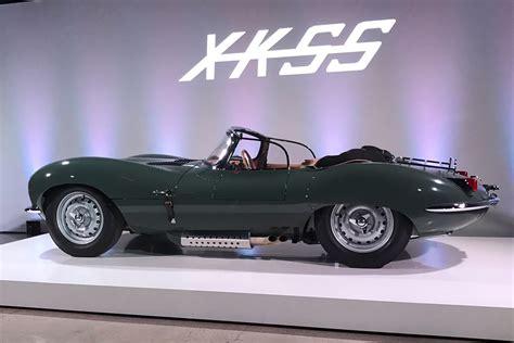 coolest jaguar d type new original jaguar xkss d type revealed in la