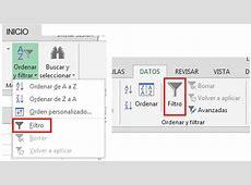 Filtrar datos en Excel Blog Guacolinos Excel