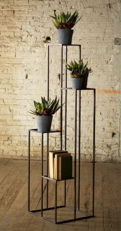 tiered open pedestal stand furniture design