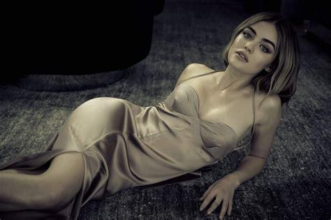 Lucy Hale - Photoshoot for Haute Living • CelebMafia
