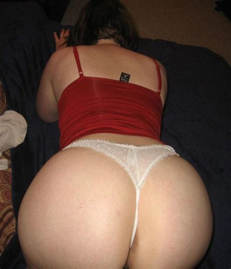 Big Ass In A Hot White Thong Porn Pic Eporner