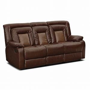 ketchum reclining sofa furniturecom With sectional sofa with dual recliners