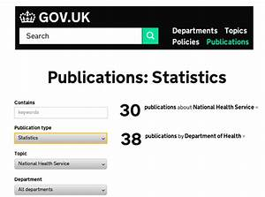 useful sources of health data on help me investigate With government documents on health
