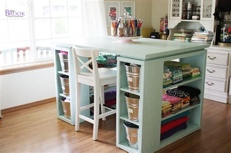 craft desk with storage craft room desk ah sugar bee crafts