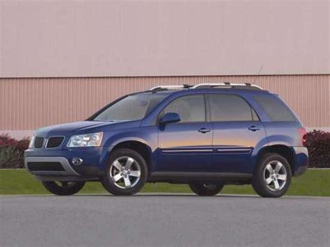 Best Used Pontiac Compact Suv