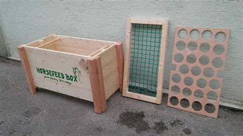 horsefeed box classic drive stall und weide horse
