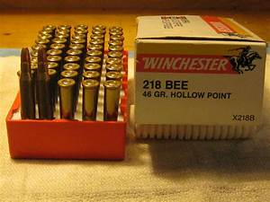 .218 Bee Winchester factory ammo 50rds.