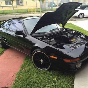 1991 Toyota Mr2 Black Low Mialeage Manual Transmission