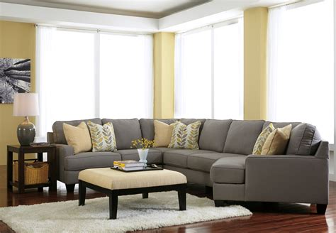 chamberly alloy raf cuddler sectional  ashley  coleman furniture