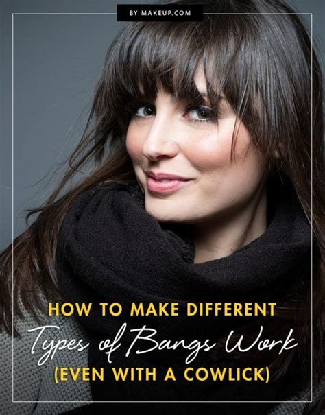 How To Make Different Types Of Bangs Work (Even With A