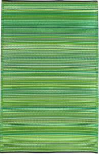 garten im quadrat outdoor teppich cancun streifen grun With balkon teppich mit tapete taupe streifen