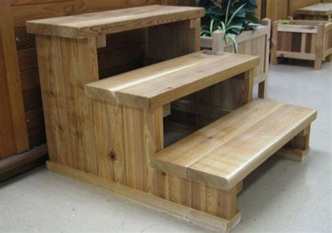 woodworking plans hot tub steps  woodworking plans