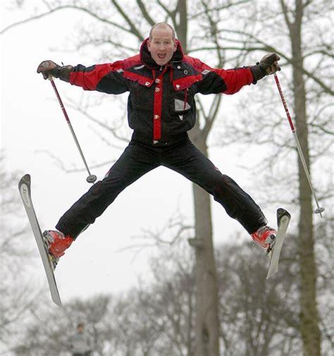 eddie eagle jump ski film hugh hollywood jackman olympics he