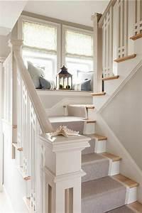 le tapis pour escalier en 52 photos inspirantes With quelle couleur de peinture pour un hall d entree 18 deco cage escalier interieur