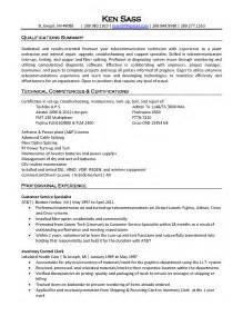 electronic technician sle resume resume format doc or pdf web server administrator resume