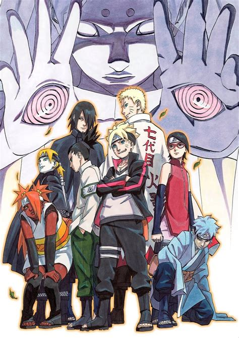 anime naruto pertama rilis manga boruto diumumkan rilis musim semi 2016 gwigwi