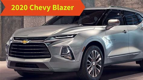 Chevrolet Blazer 2020 Specs by 2020 Chevy Blazer Specs Interior Price