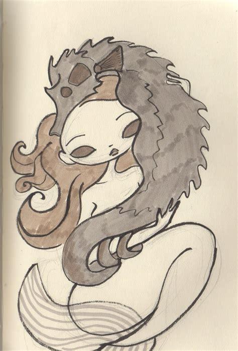 cartoon drawings  mermaids