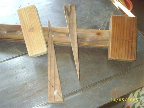 exercise  making wooden bar clamps   bar