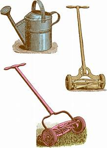 Vintage Clipart Garden / Yard Tools Oh So Nifty Vintage