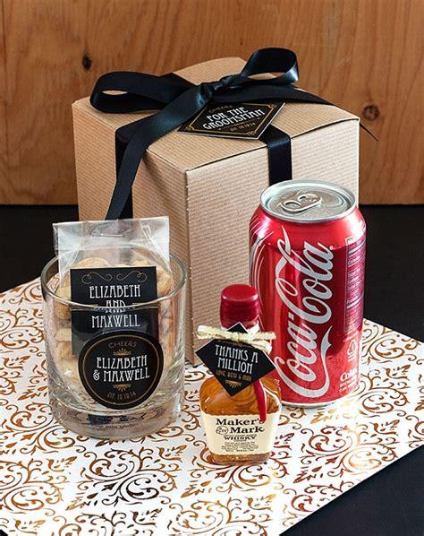 groomsman gift cocktail kit wedding inspiration