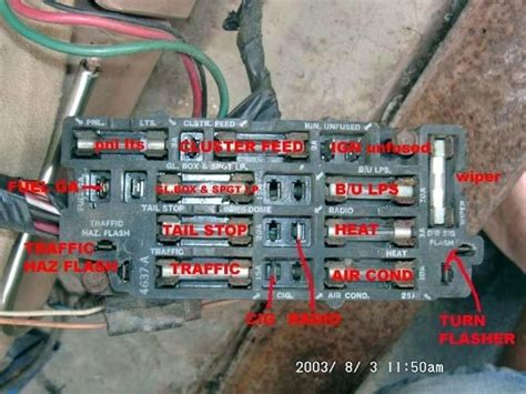 Chevy Fuse Box Wiring Diagram
