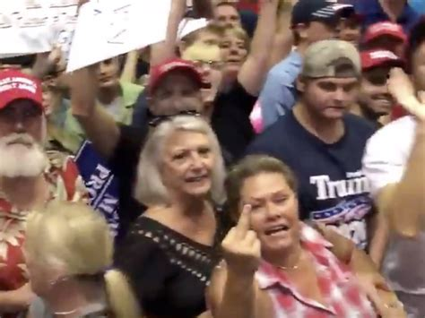 Cnn's Acosta Posts Video Of Trump Supporters Shouting At