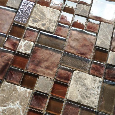 kitchen backsplash mosaic tile burgundy glass mosaic wall tile mosaic kitchen