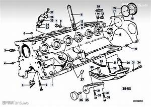 Engine Block Bmw 3 U0026 39  E30  325i  M20   U2014 Bmw Parts Catalog
