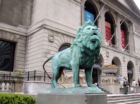 art institute lions   wizard  oz history